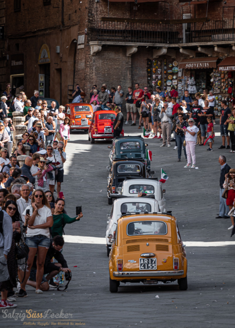Fiatparade in Siena 2